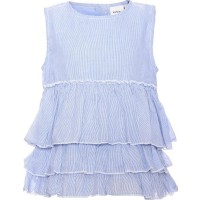 Name ItTopp Karoline Baby Blue/Bright White80 cm