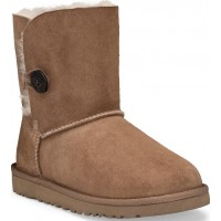 UGGBailey Button Chestnut Boots33 (UK 2 / US 3)