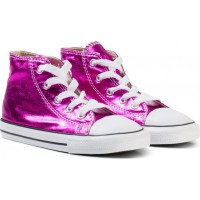 ConverseMetallic Pink Chuck Taylor All Star Hi Tops22 (UK 6)