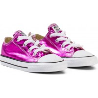 ConverseMetallic Pink Chuck Taylor All Star Ox Skor35 (UK 3)