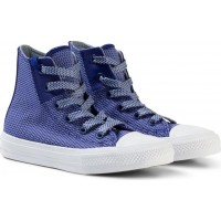 ConverseBlue Chuck Taylor All Star II Junior Hi Tops28.5 (UK 11)