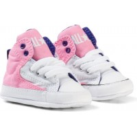 ConverseChuck Taylor All Star First Star High Street Hi Tops Skor Rosa17 (UK 1)