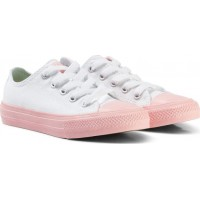 ConverseChuck II All Star Sko Vit med Rosa Sula34 (UK 2)