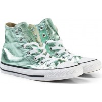 ConverseMetallic Light Green Chuck Taylor All Star Teen Ox Skor35 (UK 3)