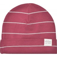 ebbe KidsWest Beanie Midnight Rose/Grey Stripe