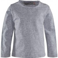 MinymoLångärmad T-shirt Light Grey Melange92 cm (15-2 år)