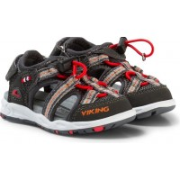 VikingSandaler Thrill Charcoal/Red20 EU