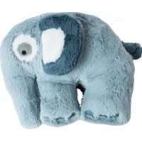 sebraPlyschdjur Elefant Cloud Blue