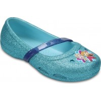 CrocsBallerina Lina Frozen Ice Blue19-20 EU