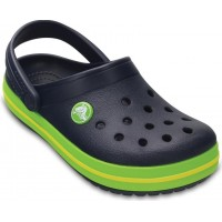 CrocsTofflor Kids Crocband Navy/Volt Green20-21 EU