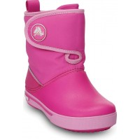CrocsCrocband II.5 Gust Boot Kids Neon Magenta/Carnation24 (C7)