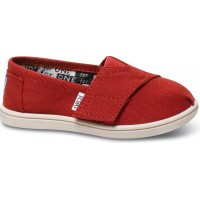 TomsToms. Canvasskor Infant Red21 EU