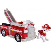 Paw PatrolBasic Vehicle With Pup Marshalls Fire Fighting Truck