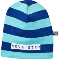 Nova StarMössa Striped Blue