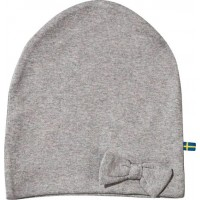 The BRANDBow Hat Grey Melange