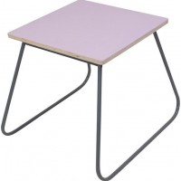 sebraWe Play Table Pastel Pink