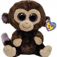 TYTY Beanie Boos Coconut Monkey Brown 23 cm