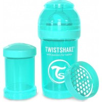 TwistshakeNappflaska Anti-Kolik 180ml Pastel Blue 0+m