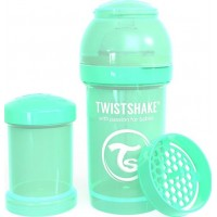 TwistshakeNappflaska Anti-Kolik 180ml Pastel Green 0+m