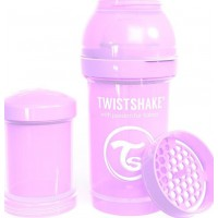 TwistshakeNappflaska Anti-Kolik 180ml Pastel Purple 0+m