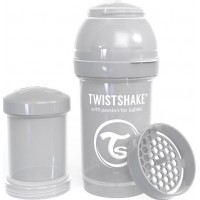 TwistshakeNappflaska Anti-Kolik 180ml Pastel Grey 0+m