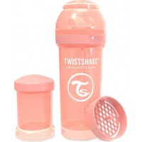 TwistshakeNappflaska Anti-Kolik 260ml Pastel Peach 2+m