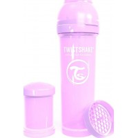 TwistshakeNappflaska Anti-Kolik 330ml Pastel Purple 4+m