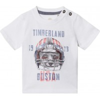 TimberlandFootball Fox Print T-shirt Vit3 years