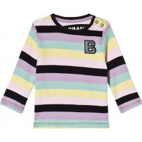 The BRANDBaby Kit T-shirt Ränder Pastell92/98 cm