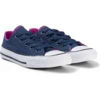 ConverseNavy and Pink Chuck Taylor All Star Junior Trainers27 (UK 10)