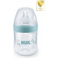 NUKNUK Nature Sense Nappflaska 150 ml Turkos Dinapp Stl. 1 Small