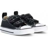 ConverseBlack Chuck Taylor All Star V OX Infants Trainers26 (UK 10)