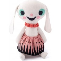 LittlephantLinen Doll Nina White