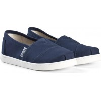 TomsNavy Canvas Youth Classics30 (UK 11)