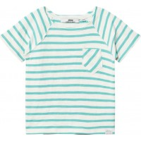 ebbe KidsLanzo T-shirt Off-white/Blue turquoise92 cm