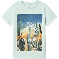 Name ItJake T-Shirt Mint Grön134/140 cm