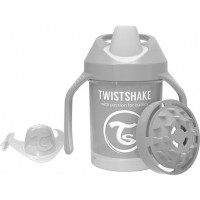 TwistshakePipmugg 230ml Pastel Grey 4+m