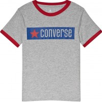 ConverseGraphic Ringer T-shirt Grå8-10 years