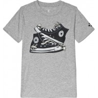 ConverseChucks T-Shirt Grå12-13 years