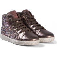 BisgaardShoe with laces Multi glitter26 EU