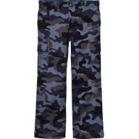 Lands' EndDark Grey and Blue Camo TrousersM (5-6 years)