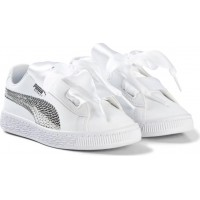 PumaBling Trainers Vit/Silver31 (UK 12)