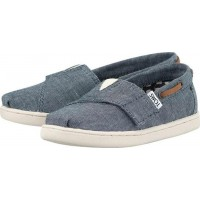TomsBlue Chambray Slip On Baby Espadrille27 (UK 9)